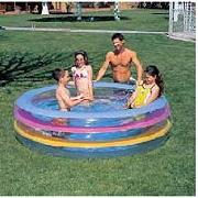 Pools garden pools outdoor pool above ground swimming for Small paddling pool