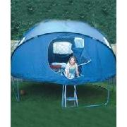 10ft Plum Tr&oline Tent & Trampoline Tent at Fun Garden.co.uk
